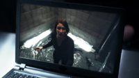 Alex Danvers trapped in a hermetically-sealed room