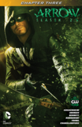 Arrow Season 2.5 chapter 3 digital cover