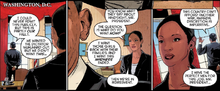 Obama is visited by Amanda Waller