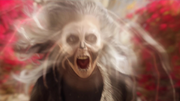 Silver Banshee and Livewire fight with Supergirl and Flash (5)