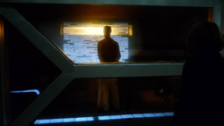 Eobard in his prison cell