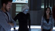 Imra, Brainy and Mon-El in talk to the DEO