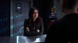 Maggie and Kara confront Rick Malverne