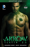 Arrow Season 2.5 chapter 1 digital cover