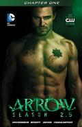 Arrow Season 2.5 chapter 1 digital cover