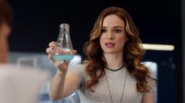 Caitlin gives Ralph a serum