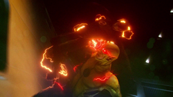 The Flash battles the Reverse-Flash