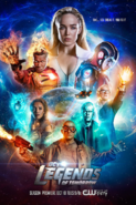 DC's Legends of Tomorow season 3 poster - Time...You Break It, You Fix It