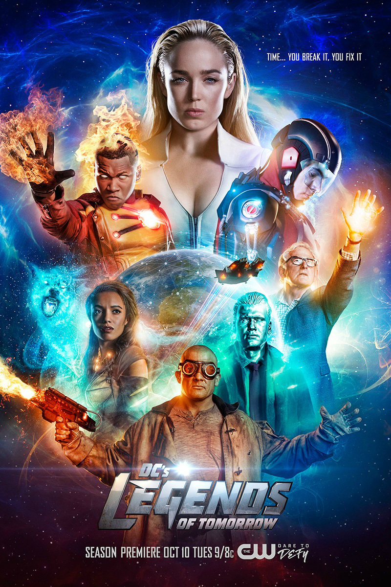 list of the dc legends of tomorrow episodes