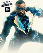 Jefferson Pierce as Black Lightning promotional image 2