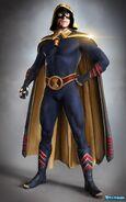 Stargirl - Hourman Concept Art 1