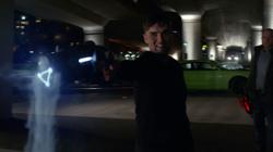 Carmine Broome uses a cold gun