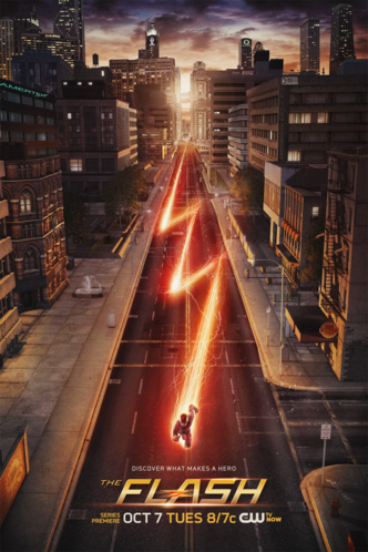 File:The Flash promo poster - Discover what makes a hero.png