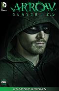 Arrow Season 2.5 chapter 16 digital cover