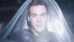 Mon-El flies into a wormhole