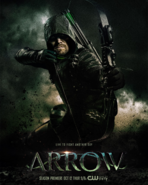 Arrow season 6 poster - Live to Fight Another Day