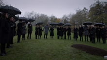 Oliver's funeral