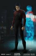 Atom (under suit) concept art
