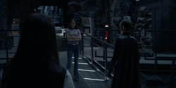 Mary gets jealous at Parker entering the Batcave