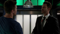 Christopher Chance introduces himself to Oliver Queen after faking the latter's death.png