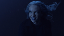 Killer Frost chases Icicle