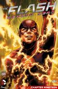 The Flash Season Zero chapter 19 digital cover