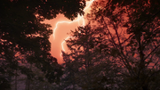 The skies turn red above Lian Yu