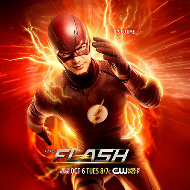 File:The Flash season 2 poster - It's Go Time.png