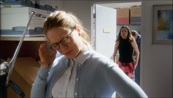 Kara finds Winn and Siobhan making out