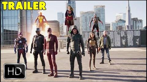 The Flash, Arrow, Supergirl, Dc's Legends of Tomorrow Crossover - THE DOMINATORS TRAILER