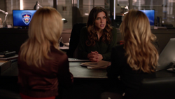 Laurel and Felicity ask Dinah for her help