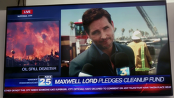 Maxwell Lord talking on KSFZ News
