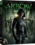Arrow - The Complete Second Season region 1 cover