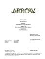 Arrow script title page - Green Arrow.png
