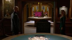 Lex is shown Leviathan's headquarters