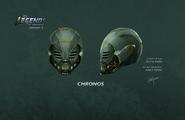 Chronos (helmet) concept art