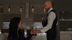 Lex y Lena luego de que ella recuperara sus memorias