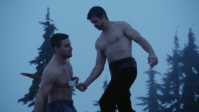 Ra's stabs Oliver in the chest