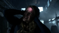 Supergirl being controlled by the Dominators