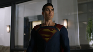 Superman (Earth-38) recruiting Clark (Earth-96)