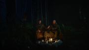 Dick Rory i agent Shwarzenegger rozmawiają o rodzinie