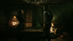 Talia tells Oliver to come back to his city to begin his mission