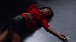 Astra dead on the floor