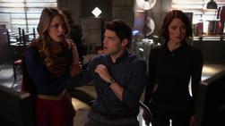 Kara, Winn and Alex surprised to see Cat Grant