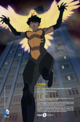 Vixen personagem card