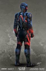 A.T.O.M Exo-suit concept art 1