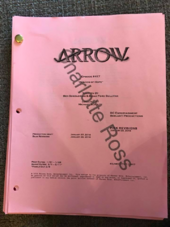 Arrow script title page - Beacon of Hope