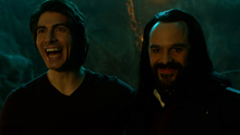Ray Palmer and Vandal Savage in Hell