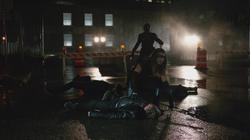 Black Canary yells at Mister Terrific
