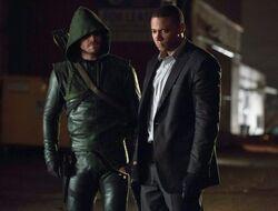 Arrow en Diggle